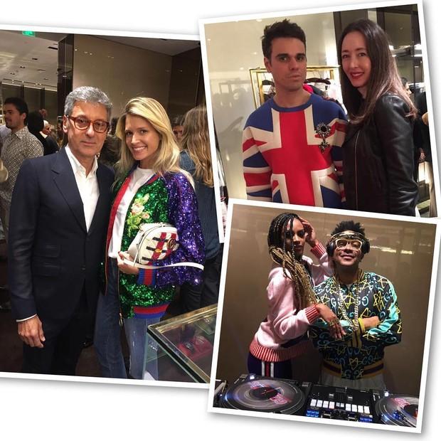 Gucci celebra pre-fall 2017 no JK Iguatemi (Foto: Divulgação)
