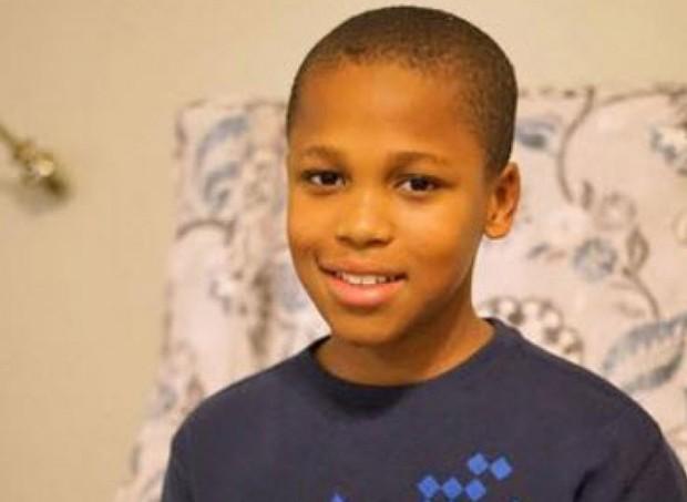Bishop, de 10 anos (Foto: GoFundMe)