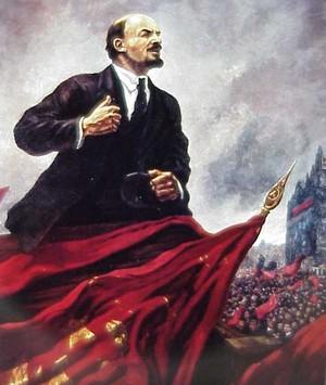 Lenin, líder bolchevique (Foto: Reprodução)