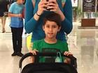 Fernanda Gentil posta foto fofíssima com o filho e afilhado em dia de folga