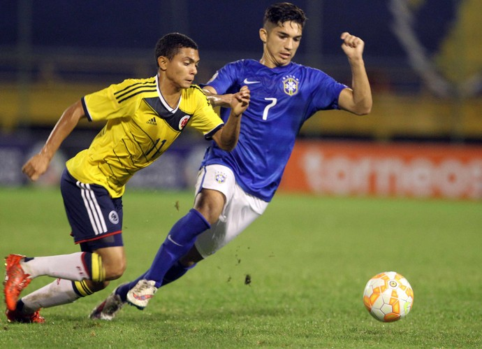 andrey brasil x colombia sub 17 (Foto: EFE)