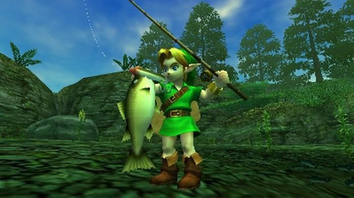 Minigame de pescaria será adicionado a Majoras Mask 3D (Foto: IGN)