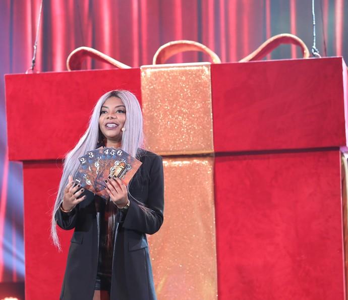 Ludmilla manda bem em sua apresentação (Foto: Carol Caminha/ Gshow)