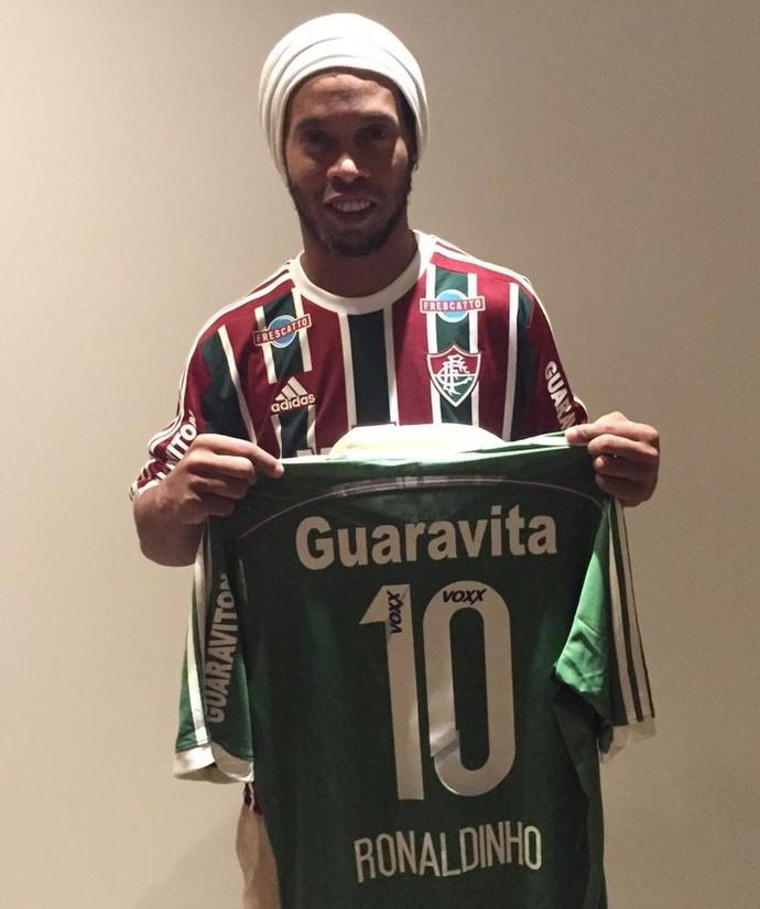 Ronaldinho Gaúcho Fluminense (Foto: Divulgação / Fluminense FC)