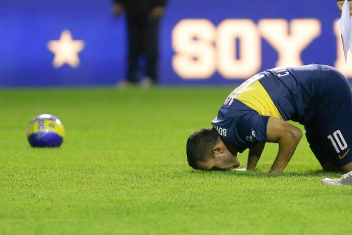 Carlos Tevez Boca Juniors (Foto: AP)