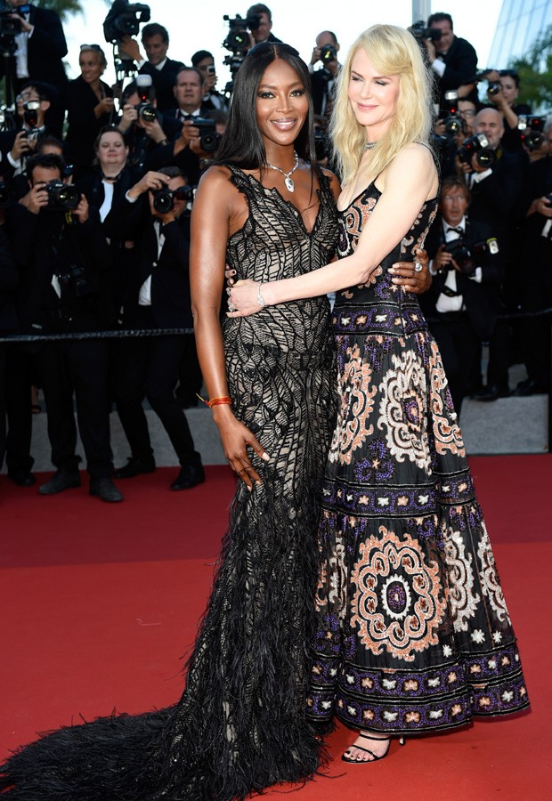 Nicole Kidman e Naomi Campbell (Foto: Getty Images)