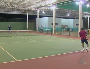 Open de Tênis em Porto Velho (Foto: Reprodução/ TV Rondônia)