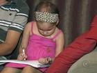 Menina com tumor no cérebro faz tratamento no Brasil após ir aos EUA