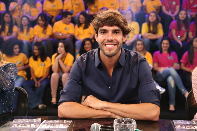 Kaká fez sucesso nas redes sociais (Foto: Carol Caminha / Gshow)