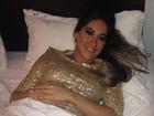 Mayra Cardi passa mal e cancela gravação com Silvio Santos