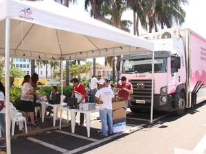 Mamografo Araguari (Foto: Prefeitura de Araguari/ Divulgação)