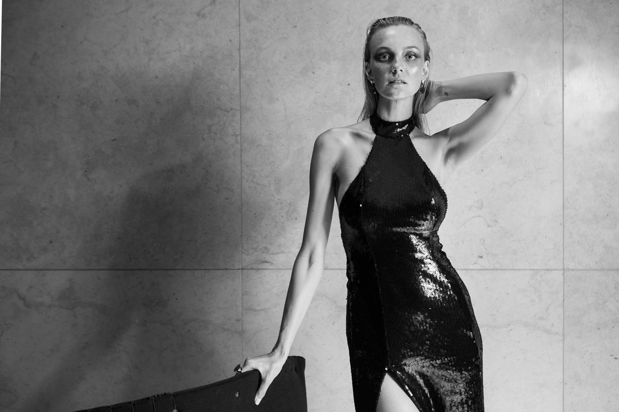 Carol Trentini no Baile da Vogue 2017 (Foto: Arquivo Vogue)