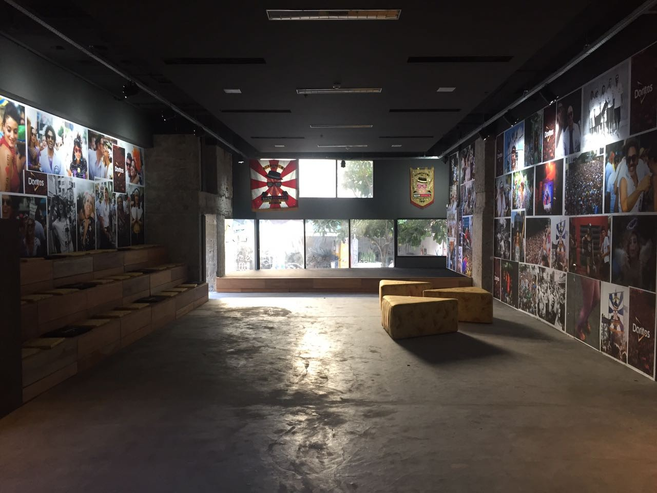 A nova sede do Acadêmicos do Baixo Augusta (Foto: Divulgação)