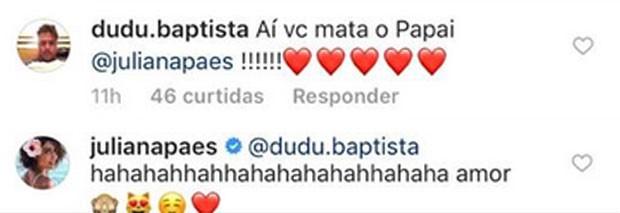 Marido de Juliana Paes elogia a atriz (Foto: Reprodução)
