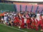 Doações do 'Futebol Contra a Fome' vão beneficiar quase 90 instituições