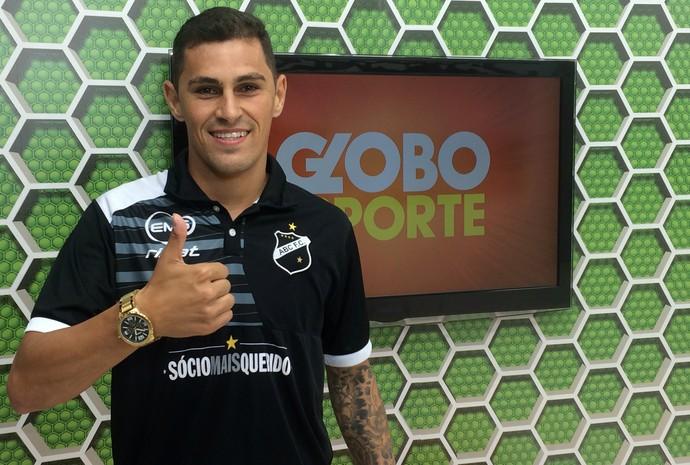 ABC - Romano, lateral-esquerdo (Foto: Klênyo Galvão/Inter TV Cabugi)