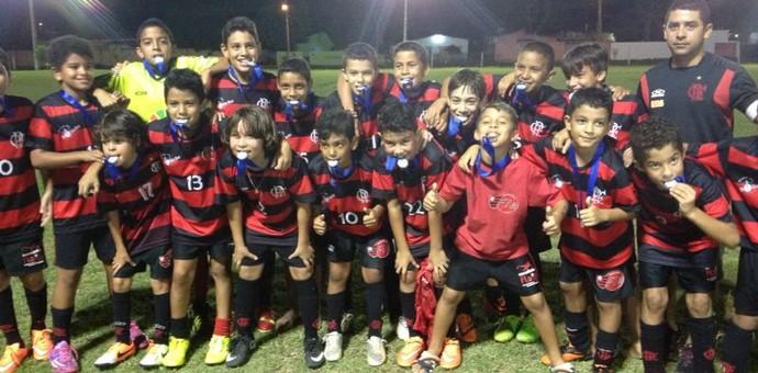 Flamengo conquista a Copinha da Lifajc na categoria sub-12 (Foto: Nailson Wapichana)