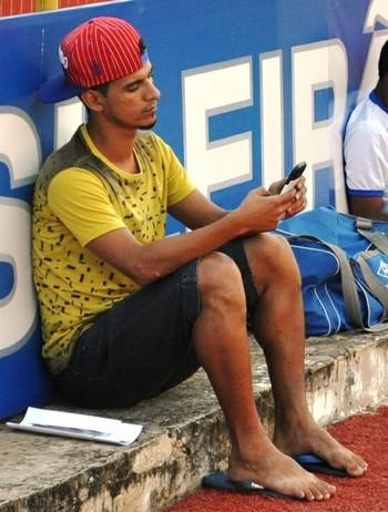 Josy, meia do Atlético-AC (Foto: Duaine Rodrigues)