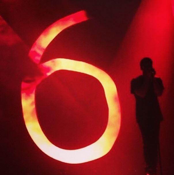 Show do Drake (Foto: Instagram/Reprodução)