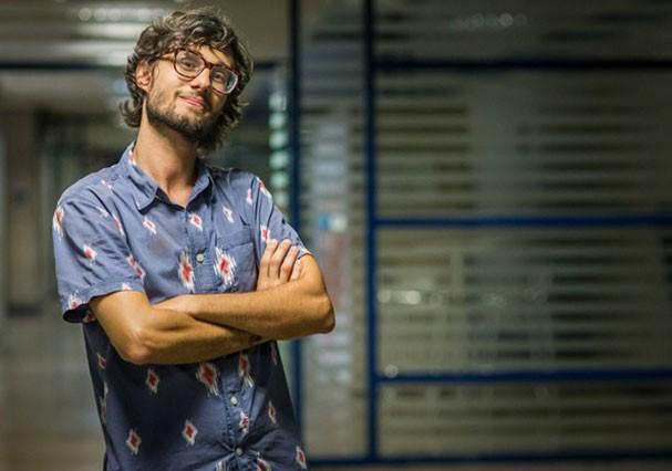 Pedro após sair do BBB (Foto: TV Globo)