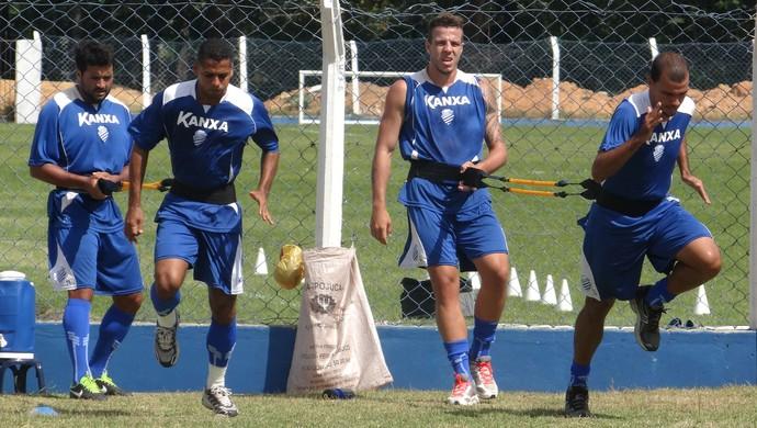 CSA treino (Foto: Leonardo Freire/GloboEsporte.com)