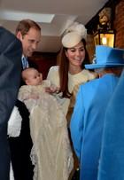 Roupa usada pelo príncipe George no batizado causa polêmica na web