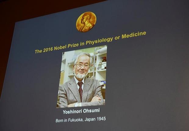 Yoshinori Ohsumi ganhou o Prêmio Nobel de Medicina de 2016 (Foto: EFE)