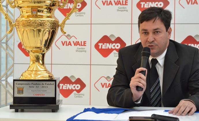 Hélio Marcondes Taubaté (Foto: Filipe Rodrigues)