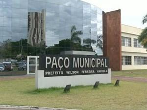 Paço Municipal de Cianorte (Foto: Reprodução/RPC TV)