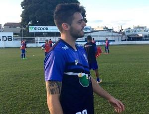 Tony e Pedrinho, atacantes, URT, Patos de Minas (Foto: Bruno Fernandes/Assessoria URT)