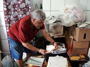 Cícero Simão Salvador Bahia (Foto: Tatiana Maria Dourado/G1)