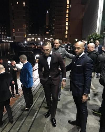 Conor McGregor Q&A Manchester (Foto: Reprodução/Instagram)