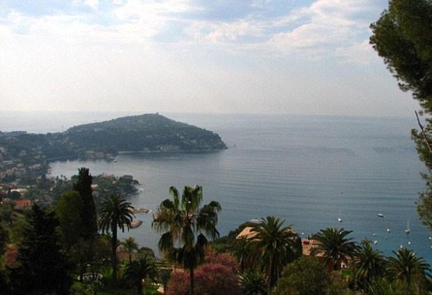 A casa mais cara do mundo, Les Cedres, fica na Cote D'Azur (Foto: © Wikipedia)