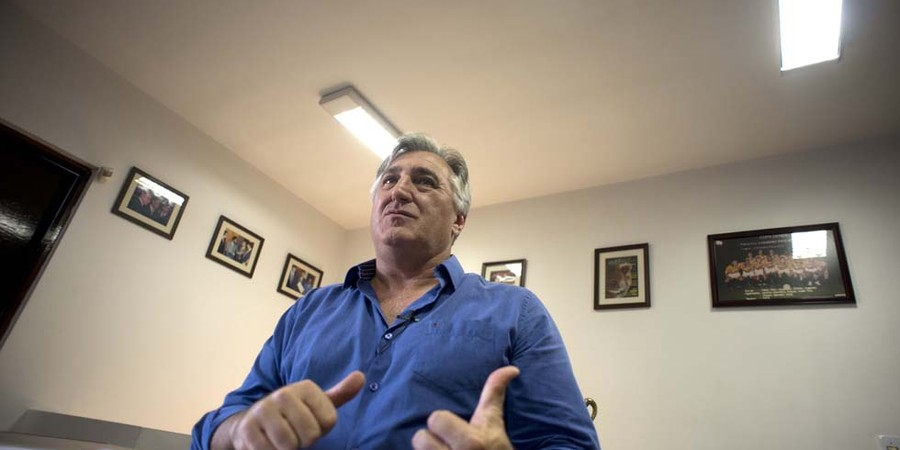 Rinaldo Martorelli, presidente do Sindicato de Atletas Profissionais de São Paulo (Foto: Emiliano Capozoli)