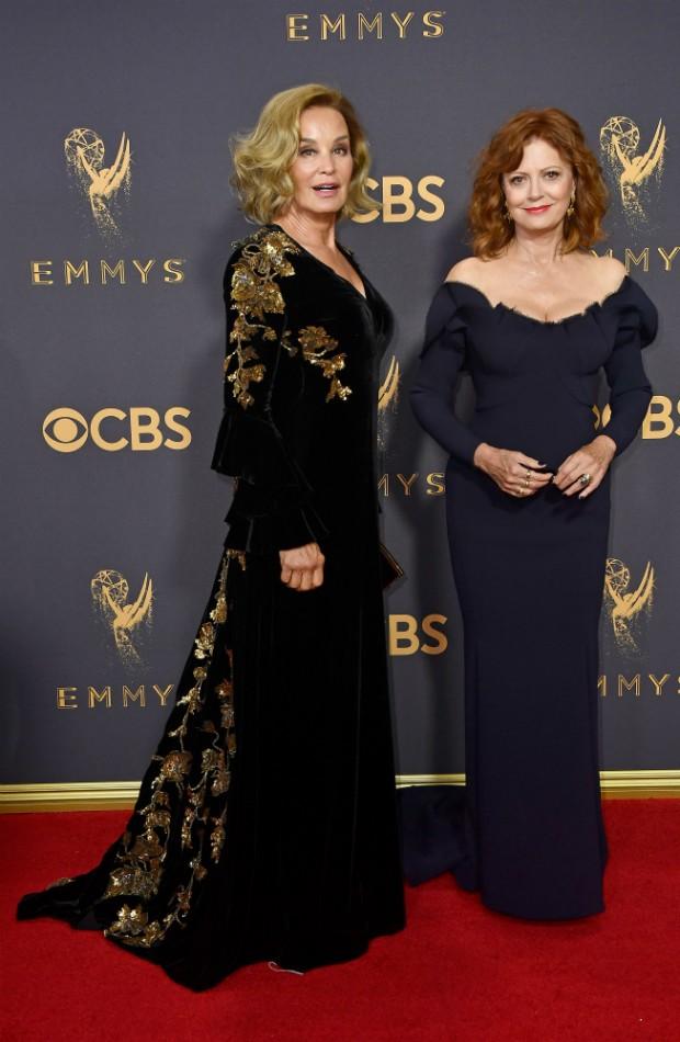 Susan Sarandon e Jessica Lange (Foto: Getty)
