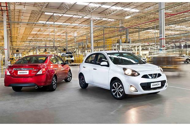 Nissan Versa e March ganham câmbio CVT (Foto: Nissan)