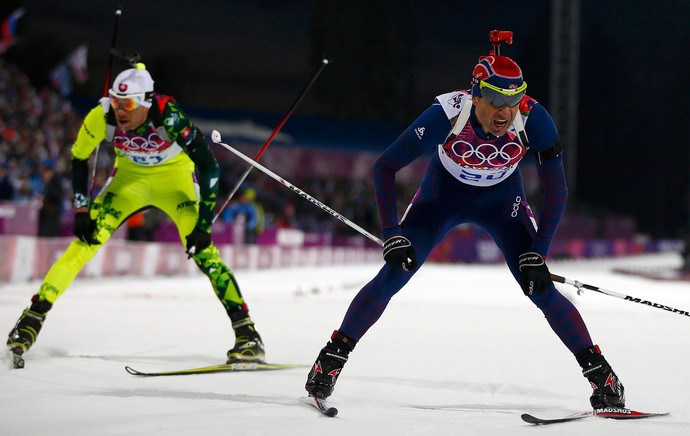 Ole Einar Bjoerndalen sochi olimpiadas de inverno (Foto: Reuters)