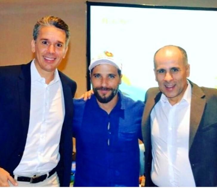 Felipe Carreras, Bruno Gagliasso e Luís Eduardo Antunes