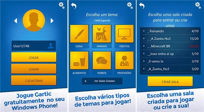 Gartic é um jogo de desenhos e adivinhação para Windows Phone (Foto: Divulgação/Windows Phone Store)