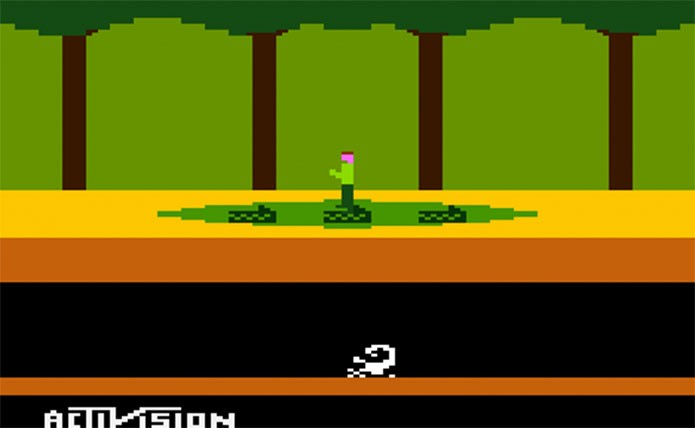Pitfall, o Uncharted de antigamente (Foto: Reprodução/Atari Archives)