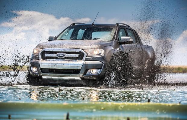 Nova Ford Ranger 4x4 (Foto: Divulgação)