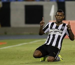 Jobson, Botafogo x Resende (Foto: Vitor Silva / SSPress)
