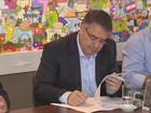 Governador assina contrato para finalizar restauração da Hercílio Luz