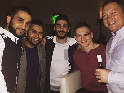 Joseph Duffy olho fechado UFC MMA (Foto: Reprodução/Twitter)