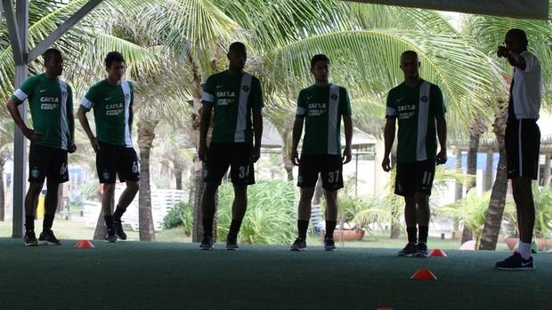 Coritiba treino físico Salvador (Foto: Divulgação / Site oficial do Coritiba)