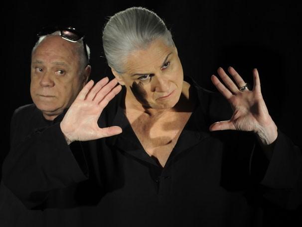 Vera Holtz e Tonico Pereira são os protagonistas do espetáculo (Foto: Divulgação)