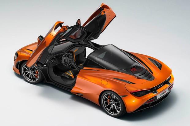 Vaza foto do McLaren 720S às vésperas do Salão de Genebra (Foto: Reprodução)