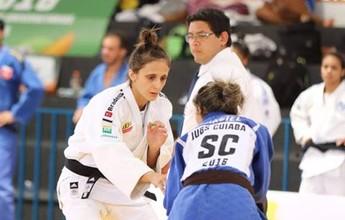 """Gilmara comemora convocação para seletiva olímpica de judô: """"Muito feliz"""""""