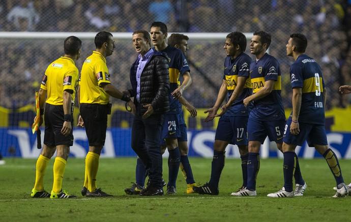 Rodolfo Arruabarrena, Boca Juniors x River Plate (Foto: EFE)