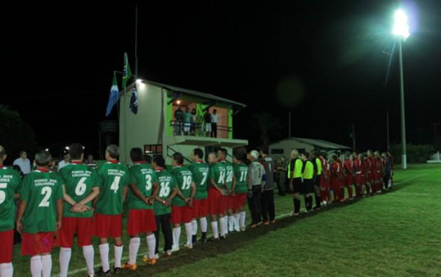 Estádio municipal André Borges, em Coxim (Foto: Rachid Waqued)